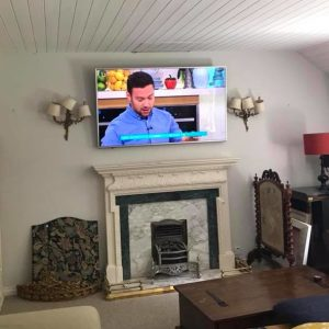 TV Cable Concealment
