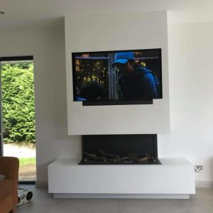 TV Wall Mount Cable Concealment
